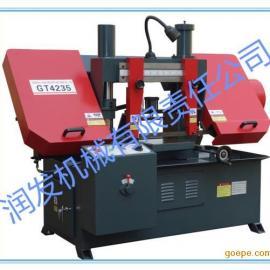 润发机械GT4235液压金属带锯床价格 液压带锯床厂家批发