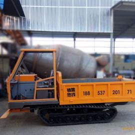 厂家生产多功能履带式运输车单杠动力系统履带拖拉机农用运输