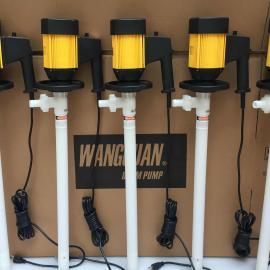 上海旺泉HD-E2-V+HD-PPHT-500塑料手提泵、塑料插桶泵、塑料油桶�