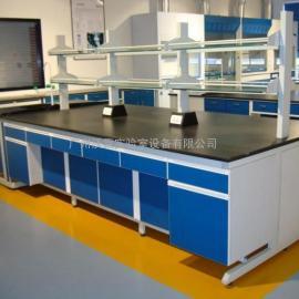 佛山工厂批量定制钢木实验台 定制钢木实验台 边台 中央实验台