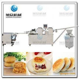 南京旭众老牌酥饼机 苏式月饼机 央视推荐多功能酥饼成型机
