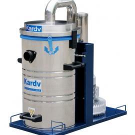 凯德威大功率工业吸尘器干湿两用商用桶式80L吸尘器
