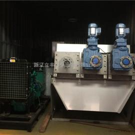 可移动式固液分离脱水装置