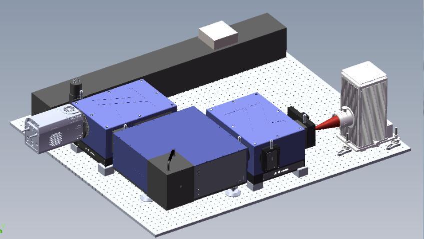 荧光光谱测量系统