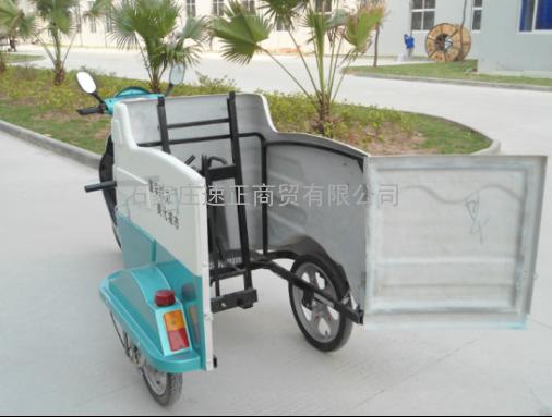 河北供应欧洁优质方便耐用型DHWQY-8电动三轮挂桶车