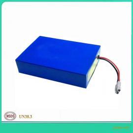 光伏电池12V太阳能路灯锂磷酸铁锂电池组12V50AH