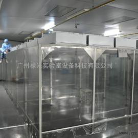 洁净棚 净化棚 FFU 净化工程 广州禄米实验室设备