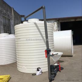 正定10��耐酸�A塑料水塔塑料水箱高架雨水收集罐�S家直�N