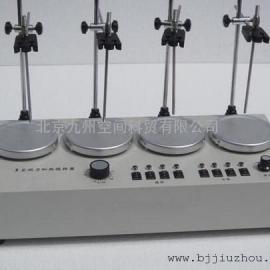 四联多头磁力加热搅拌器