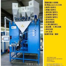日本ADM聚酯电木白灰浇筑机