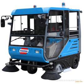 学校校园道路路面地面清扫用扫地车 电动清扫车电瓶扫路车