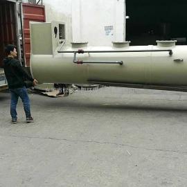 厂家供应优质喷淋塔 旋流板式脱硫塔 承接环保工程