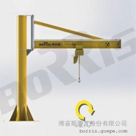 立柱式旋臂起重�C(270度旋�D)