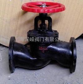 J41T铸铁截止阀 上海深嵘牌铸铁截止阀