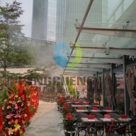 户外喷雾设备景区冷雾降温温泉人造雾