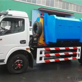 福田小型钩臂式垃圾车 12吨勾臂式垃圾车