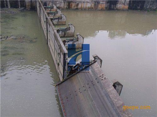 景观河道混凝土翻板闸门设计|水电站液压翻板闸门销售厂家