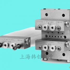 固瑞克气动泵 递进式MSP分流阀 盾构机配套润滑装置