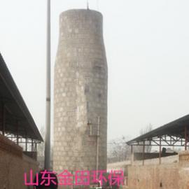 砖瓦厂隧道窑花岗岩麻石脱硫除尘塔