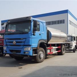重汽10-12方沥青洒布车-12吨乳化沥青洒布车