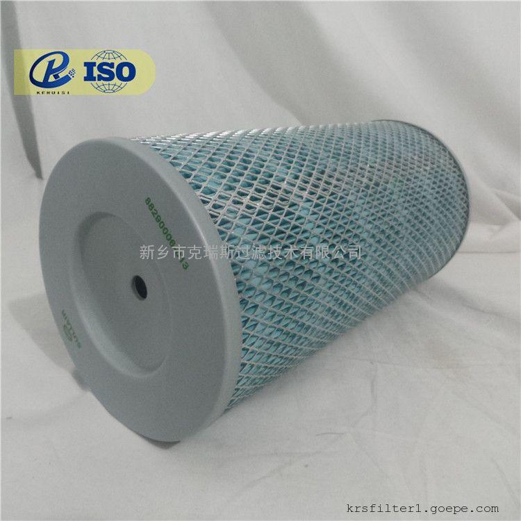 厂家生产SULLAIR/寿力空压机滤芯空气滤芯02250125-371 空滤