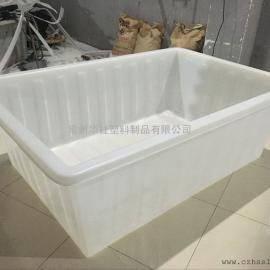 河池1100L蚂蝗养殖专用桶塑料方箱牛筋桶厂家直销