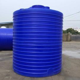 10立方水处理专用塑料储罐 10吨耐酸碱无缝水箱