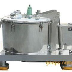 平板离心机PGZ1000平板式刮刀下部卸料离心机