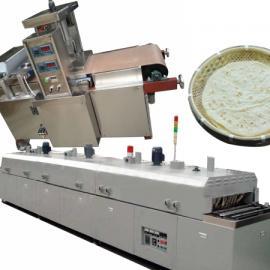 烙馍卷菜做法,圆形烙馍机生产线,全自动水烙馍机设备型号