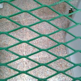海南4mm丝菱形孔钢板护栏网加工定做-机械护罩钢板网规格