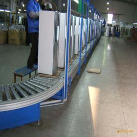 非标定制广州无动力滚筒线|滚筒输送线制造厂商|物流分拣滚筒线