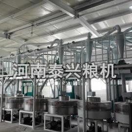 石磨面粉机械-石磨面粉机-全自动石磨面粉机
