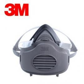 3M3200煤矿版防尘面具/3270防尘面具/3701滤棉