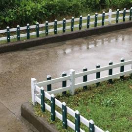 广宁江屯镇PVC市政农村道路绿化护栏,PVC园林草坪护栏