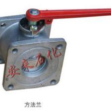 Q41F-4L铝合金方球阀 洒水油罐车球阀 法兰槽车球阀