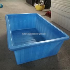 无锡K1500L抗老化布草车推布车塑料方箱印染厂家专用
