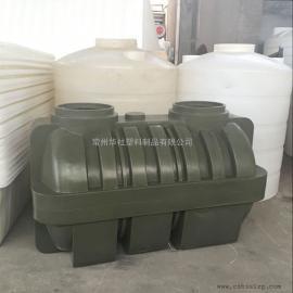 辽宁1.5吨防氧化三格化粪池一体化污水处理化粪池环保型