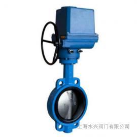 上海LQ电动对夹蝶阀生产厂家