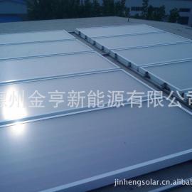 阳台壁挂太阳能热水器 平板太阳能德州金亨邦特尔厂家直销