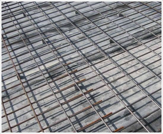 钢筋网理论重量(kg)=钢筋网所用钢筋长度(m)*丝径