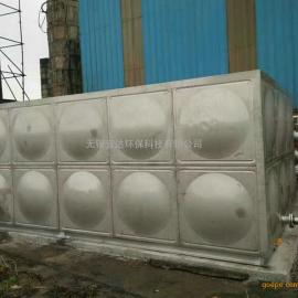 专业厂家生产暖通工程方形不锈钢保温水箱 圆柱形保温水箱