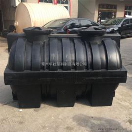 齐河2吨耐酸碱一次成型化粪池三格化粪池平底化粪池价格