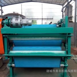 处理量大,适用于各种污泥脱水的带式压滤机
