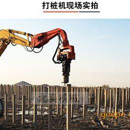 打桩锤-打拔钢板桩 光伏桩 水泥方桩优质供应商