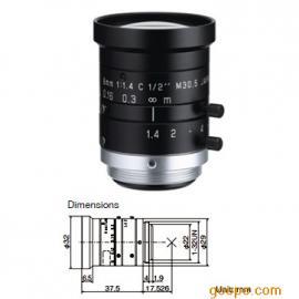 日本理光(RICOH)工业镜头 FL-HC0614-2M