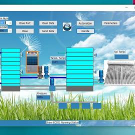 富睿电子FP-SAWSS太阳能热水系统