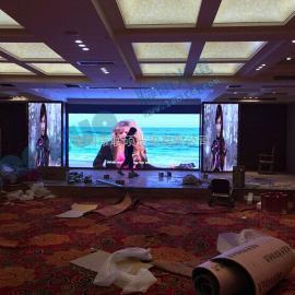 酒店大堂安装LED大屏幕尺寸做多少合适价格要多少钱