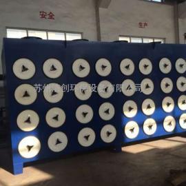 粉末涂料厂脉冲滤筒式中央除尘器