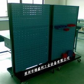 现货螺丝货架,零件盒货架,双面螺丝整理架,深圳螺丝架
