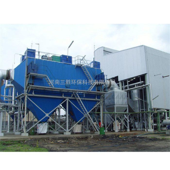 河南鹤壁县脉冲袋式除尘器粉源尘治理一步一步到位